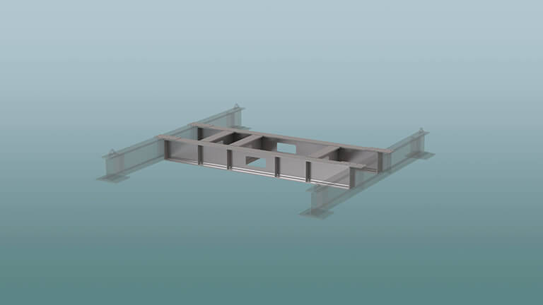 Removable support bridge