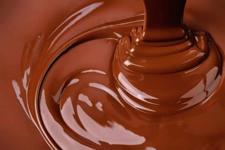 Mixing chocolate